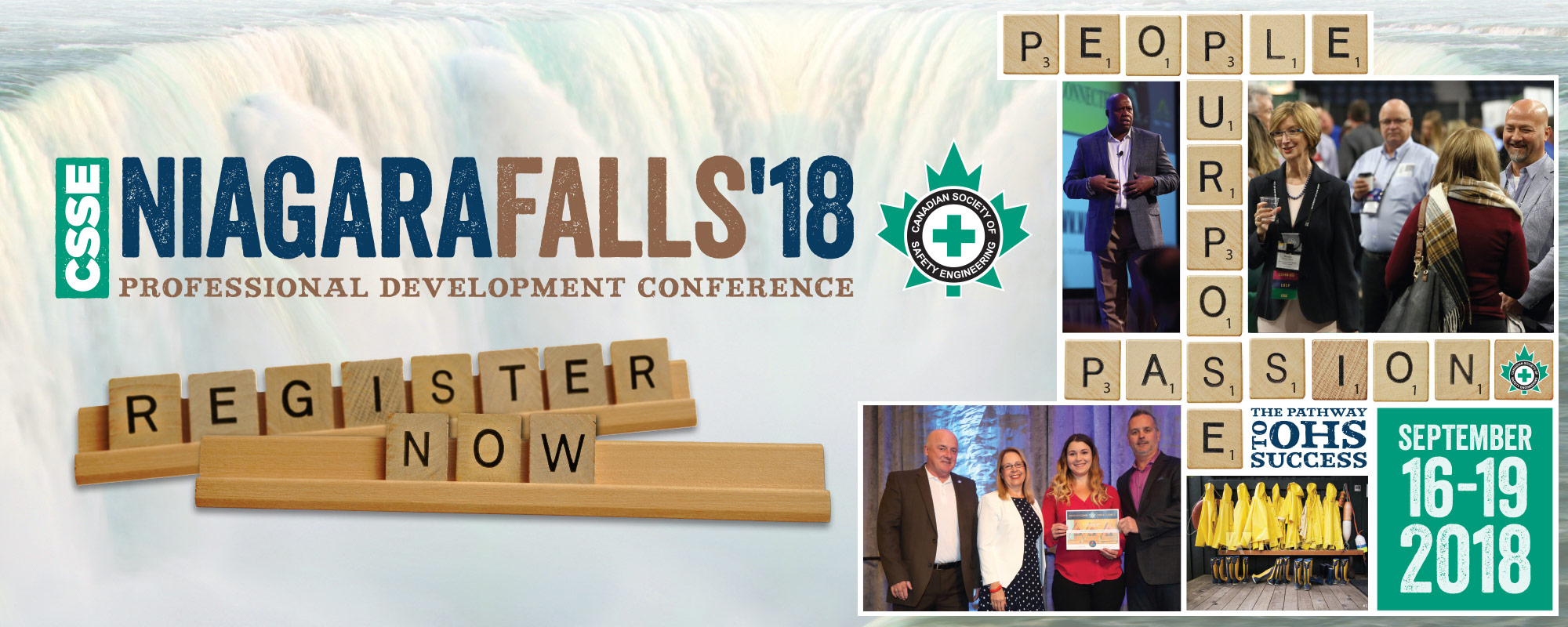 Register for Conference 2018 in Niagara Falls
